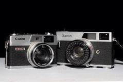 Канон Canonet Стоковая Фотография RF
