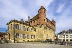 Кантон Во в Лозанне Швейцарии Стоковое Изображение RF
