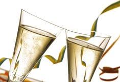 канун новый s toasting год Стоковые Фото
