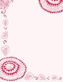 канцелярские принадлежности цветка розовые стоковое фото