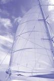 канцелярские принадлежности sailing предпосылки Стоковое фото RF