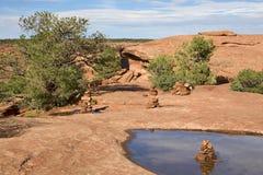 каньона соотечественник de памятника chelly Стоковые Изображения