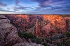 каньона спайдер утеса de памятника chelly национальный стоковое изображение rf