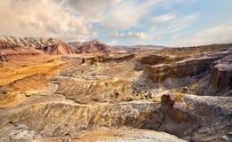 Каньоны в пустыне стоковые изображения rf