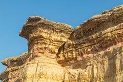 Каньоны в пустыне Namibe вышесказанного anisette С метками размывания стоковые изображения