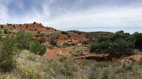 Каньоны парк штата Caprock, Техас Стоковые Фотографии RF