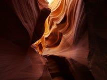 каньоны смотря шлиц Стоковое Фото