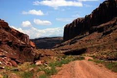 каньоны Юта Стоковая Фотография RF
