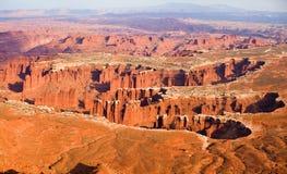 каньоны midwest Стоковые Фото