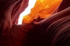 Каньон антилопы - изумляя цвета утесов песчаника стоковые изображения rf