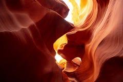 Каньон антилопы - изумляя цвета утесов песчаника стоковое изображение rf