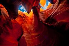 каньон антилопы Стоковое Изображение RF