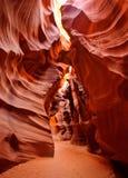каньон антилопы Стоковое Изображение