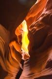 Каньон антилопы, Аризона, США, озеро Пауэлл стоковые изображения