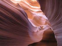 каньон антилопы понижает Стоковые Фотографии RF