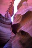 каньон антилопы понижает Стоковая Фотография RF