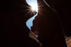 каньон антилопы понижает Стоковое Фото