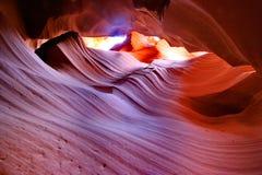 каньон Аризоны антилопы понижает Стоковые Фото