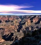 каньон Аризоны грандиозный Стоковое Изображение RF