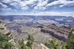 каньон Аризоны грандиозный Стоковые Изображения
