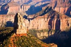 каньон Аризоны грандиозный hayden mt Стоковое фото RF