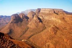 каньон Африки южный Стоковые Фотографии RF