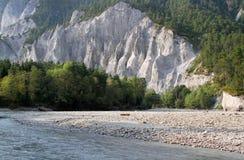 Каньон белизны Рейна стоковые изображения