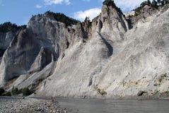 Каньон белизны Рейна стоковое изображение