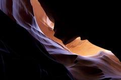 каньон внутрь Стоковая Фотография RF