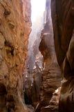 каньон внутрь Стоковые Фото