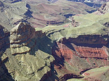каньон внутрь Стоковые Фотографии RF