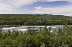 Каньон водоворота, ДО РОЖДЕСТВА ХРИСТОВА, Канада Стоковое Фото