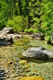 Каньон воды в Корсике Стоковые Изображения