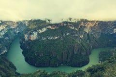 Каньон в Мексике Стоковое Фото