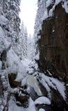 Каньон в национальном парке Karkonosze стоковое изображение