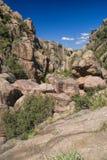 Каньон в Cerro Uritocoro стоковое фото rf