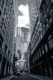 Каньон города - Бостон, США стоковое фото