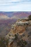 каньон грандиозный обозревает сценарное Стоковое Изображение