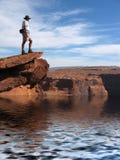 каньон грандиозный обозревает Стоковые Фото