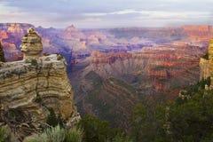 каньон грандиозный Стоковое Изображение RF