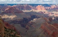 каньон грандиозный np Стоковые Фотографии RF
