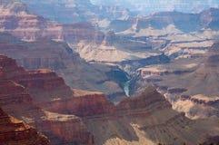 каньон грандиозный np стоковая фотография