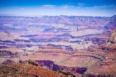 каньон грандиозные США Аризоны Стоковое Фото