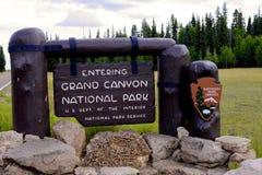 каньон грандиозные США Аризоны Стоковое Изображение