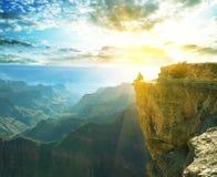 каньон грандиозный Стоковая Фотография