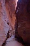 Каньон Глуш-лосиной кожи скал AZ-UT-Paria Каньон-Vermillion Стоковые Фотографии RF