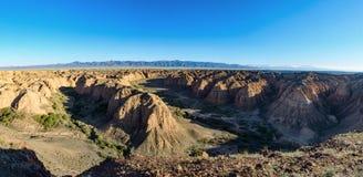 Каньон желтого цвета Zhabyr каньона Стоковое фото RF