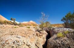 Каньон и гора пустыни стоковая фотография rf