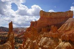Каньон и облака Bryce Стоковые Изображения