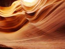 каньон контурит шлиц Стоковое Изображение RF